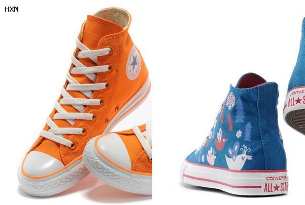 modelos de zapatos converse botines