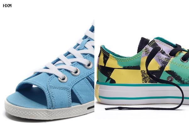 zapatillas converse de piel mujer