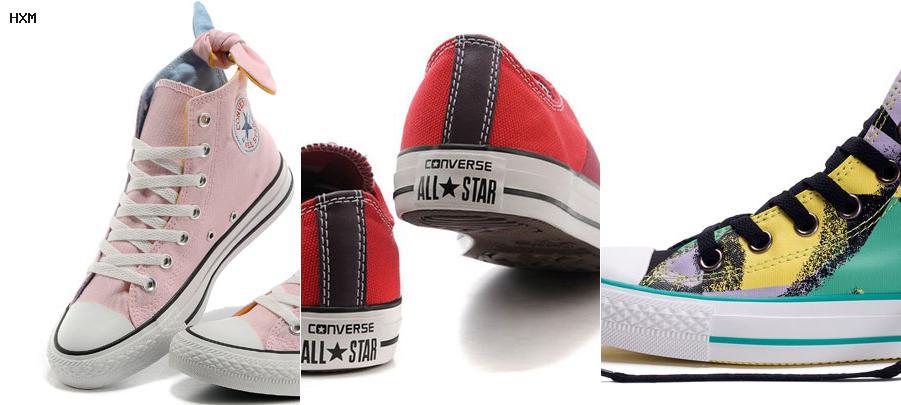 zapatos converse para mujeres